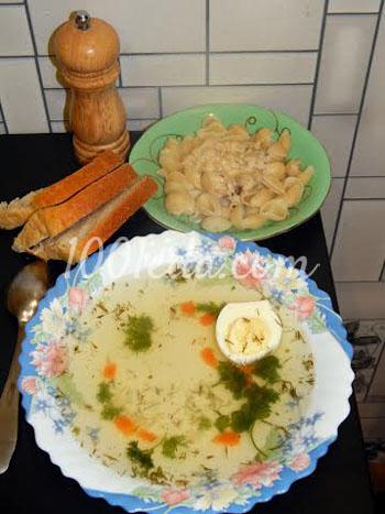 Как приготовить на мультиварке куриный суп с