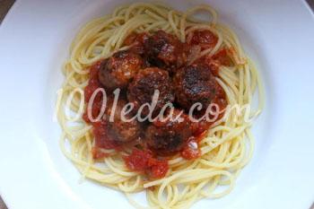 Спагетти с острым томатным соусом с баклажанами, пошаговый рецепт с фото