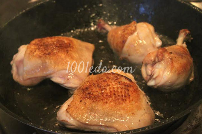 """Куриные окорочка """"Острый кампари"""" – кулинарный рецепт"""