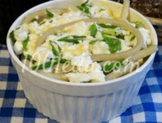 Паста с творогом и сыром, запеченная в духовке