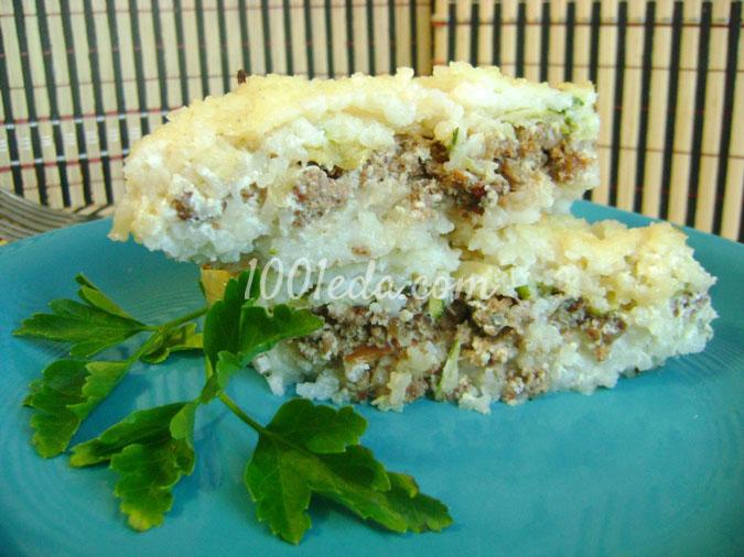 Как приготовить рисовую запеканку с мясом