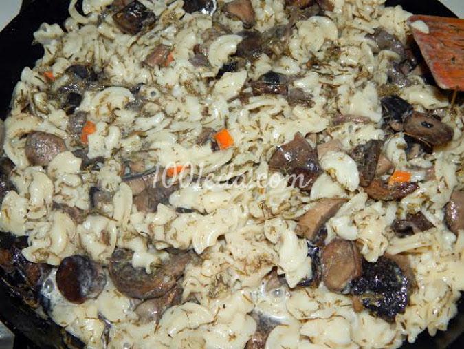 макароны в сливочном соусе с фаршем в духовке рецепт