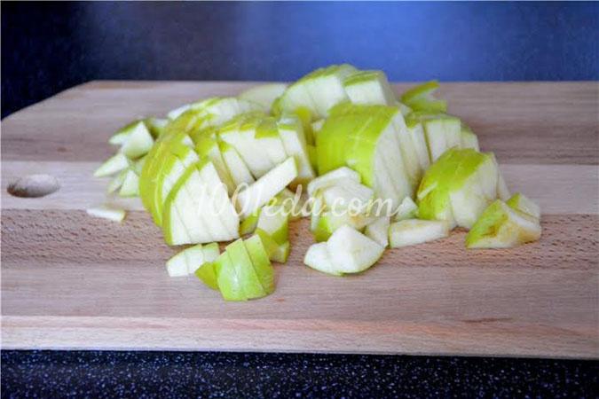 Дрожжевой пирог с яблоками рецепт