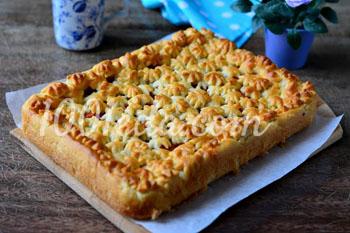 Пирог без яиц с яблоками рецепт пошагово в духовке 50