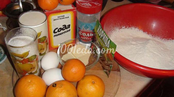 Гусь новогодний с мандаринами, пошаговый рецепт с фото