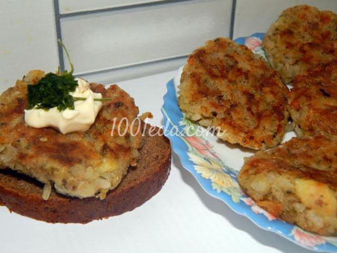 рецепт рыбных котлет из минтая в духовке с фото