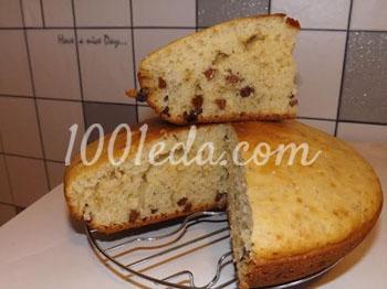 мультиварка рецепты кекс с изюмом