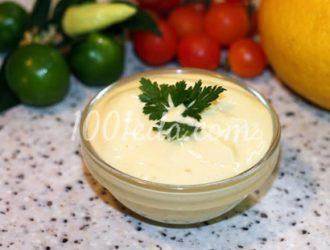 Домашний соус Майонез с помощью погружного блендера: рецепт с пошаговым фото