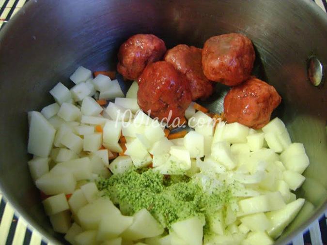Очень вкусный суп с фрикадельками рецепт пошагово 64
