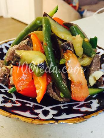 Салат с пастромы индюшки и овощами – кулинарный рецепт
