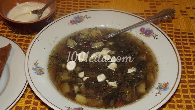 постный фасолевый суп из консервированной фасоли рецепт