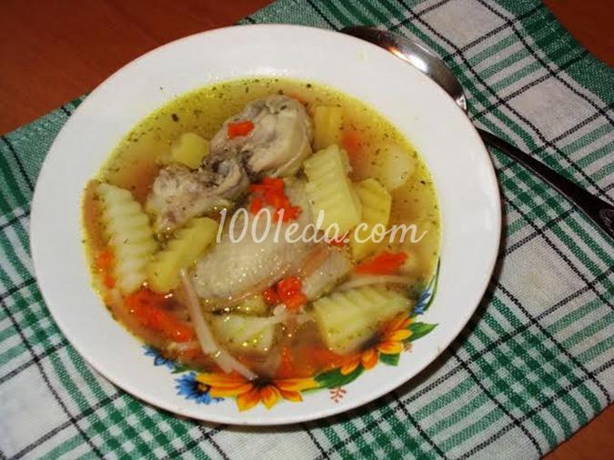 Суп куриный без поджарки