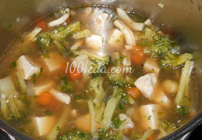 Суп с кальмаром и тофу: рецепт с пошаговым фото