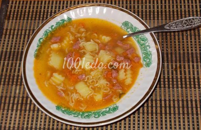 Рецепт супа с роллтоном с фото