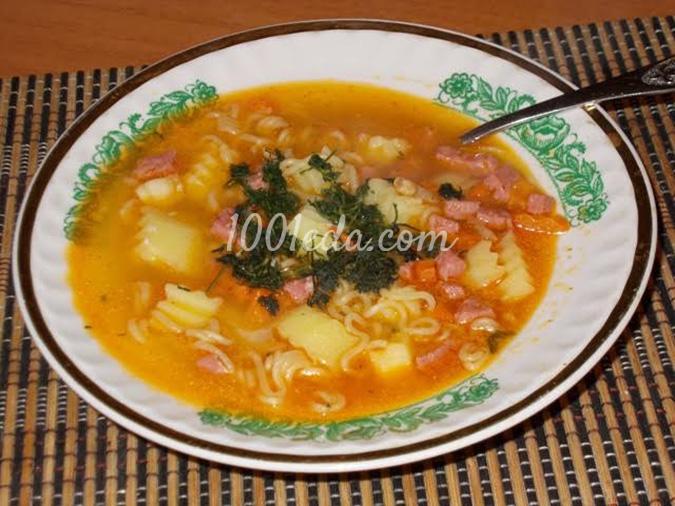 Суп со шпинатом и курицей рецепт с фото пошагово