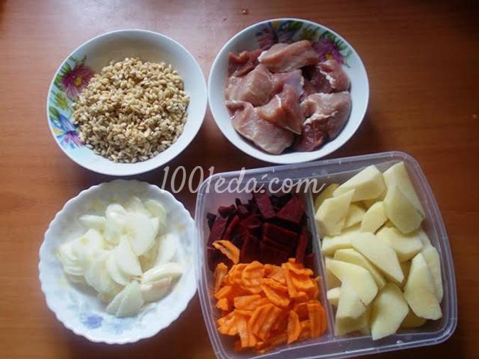 рецепт густого супа с мясом