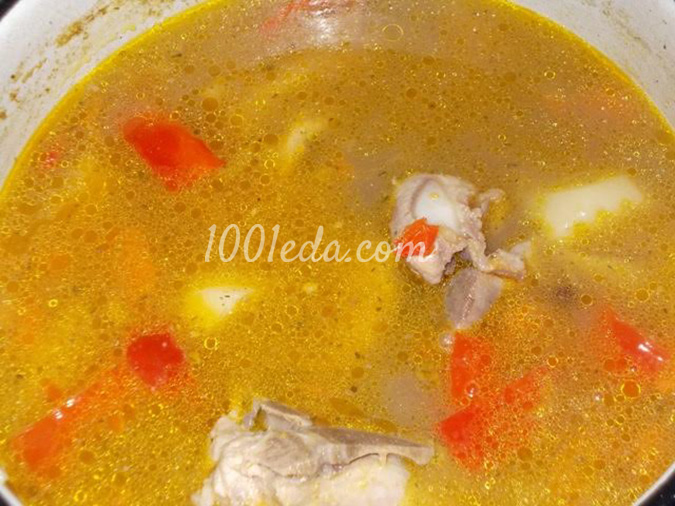 Суп из бобов рецепт с пошагово