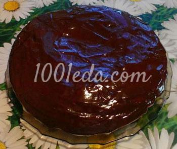 Простой и очень удачный бисквитный торт – кулинарный рецепт