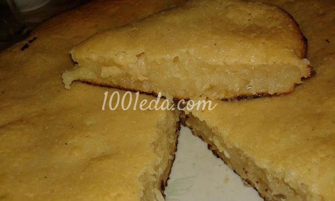 манник на маргарине рецепт с фото