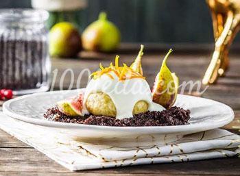 """Десерт """"Инжир с грецким орехом"""" – кулинарный рецепт"""