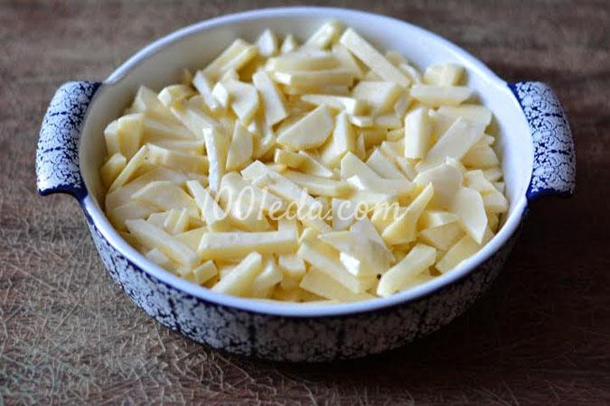 картофель с котлетами в духовке рецепт с фото