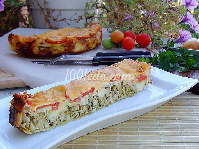 Заливной пирог с печенью рецепт пошагово в духовке