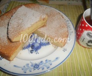 Рецепт бисквита на молоке с пошагово