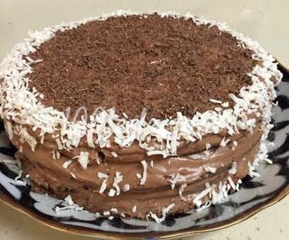 Шоколадный торт к чаю