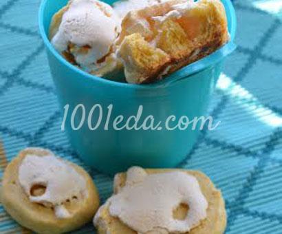 Сырное печенье с безе