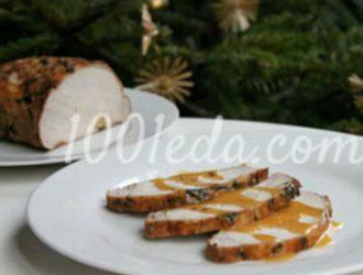 Запеченная свиная корейка с базиликом и паприкой: рецепт с пошаговым фото