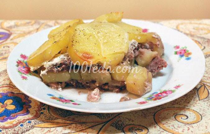 быстрый рецепт картошки с курицей в духовке