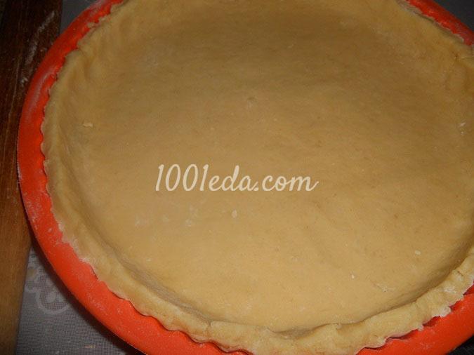 Тертый пирог с вареньем пошагово