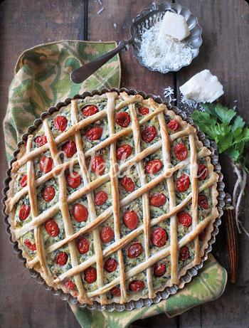 Комментарии к рецепту: Вишневый пирог под кремом Патисьер