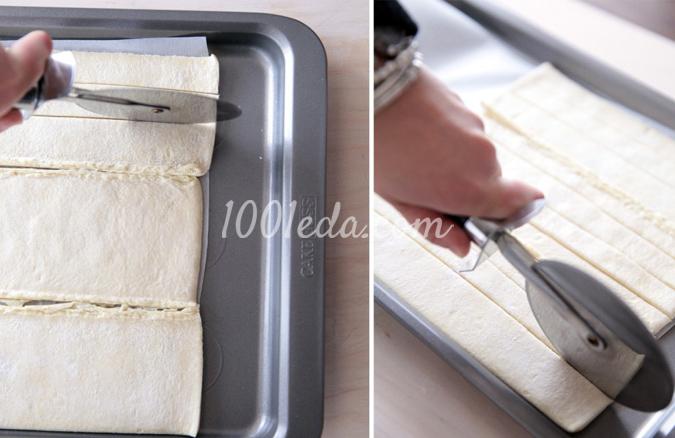 Слоеные пуговки – кулинарный рецепт