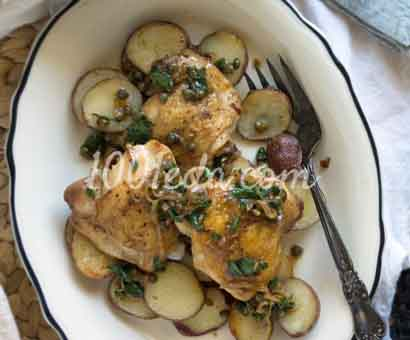 рецепт жареная курица с яйцом