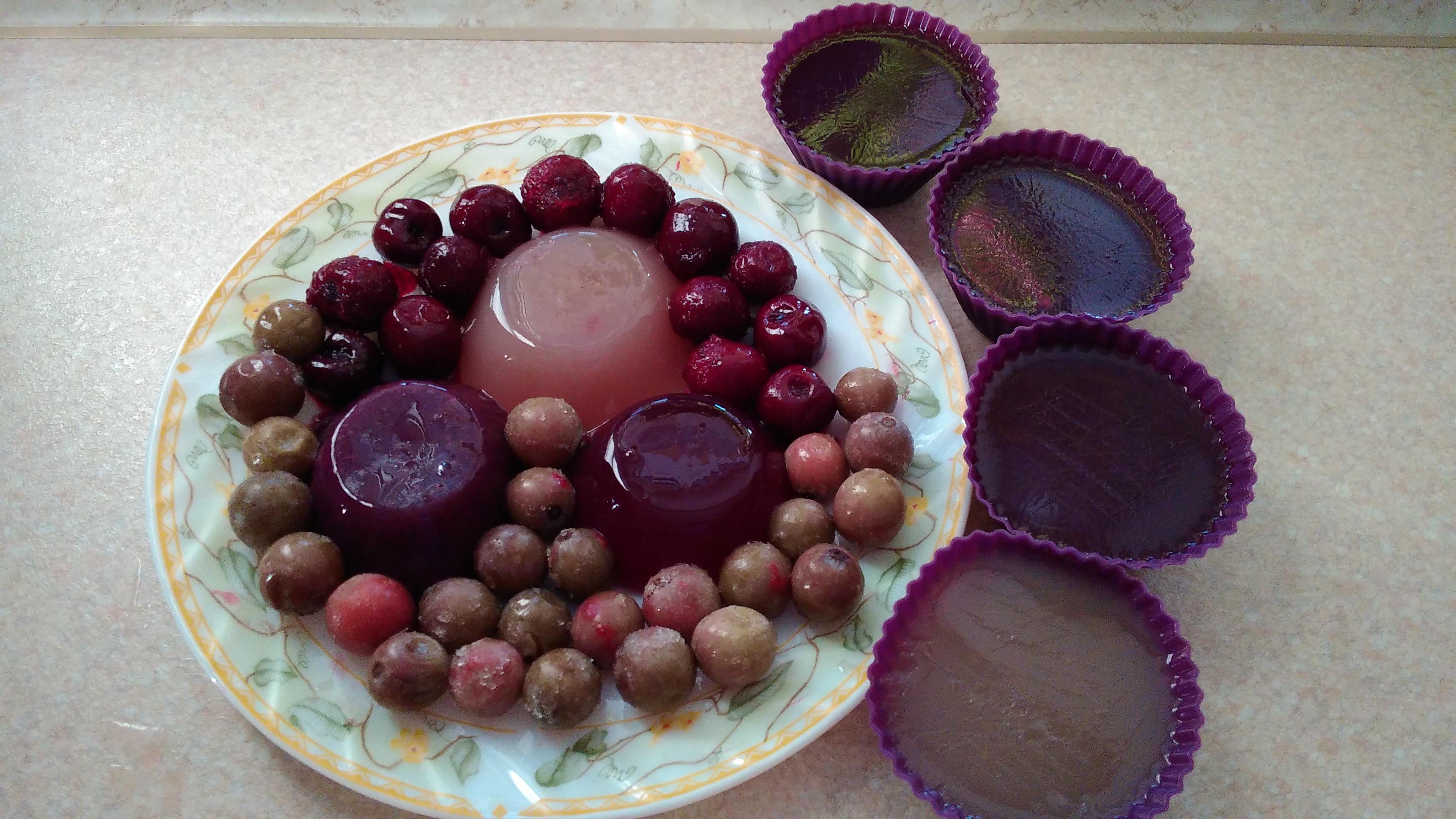 Рецепт фруктового желе с фруктами пошагово