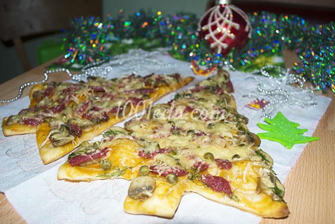 Рецепты овощная пицца с фото Рецепты приготовления