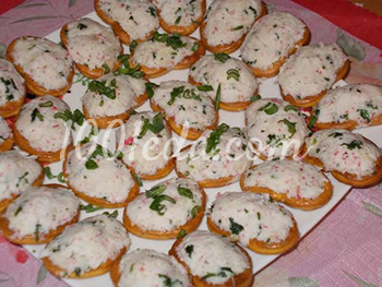 острые салаты на праздничный стол