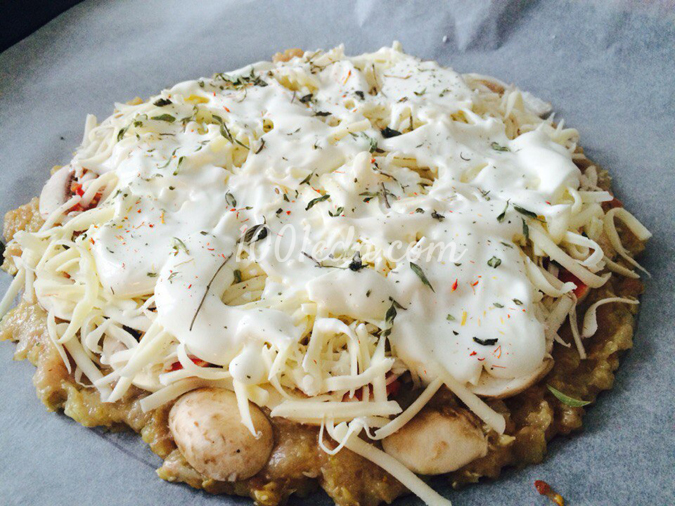 пп пицца на курином филе рецепт с фото
