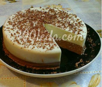 Ванильно-шоколадный десерт из творога
