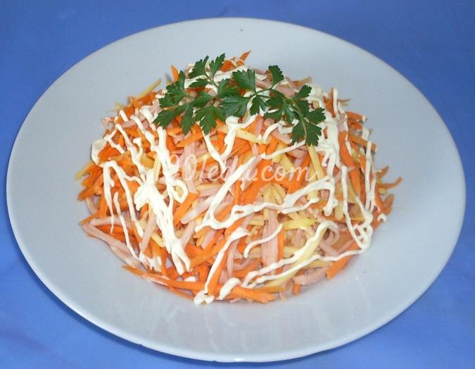 Салат аппетитный рецепт с фото