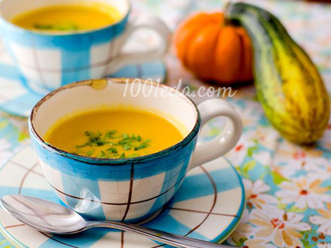 суп пюре из тыквы и цветной капусты рецепты