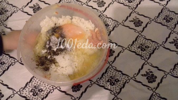 """Булочки с яйцом и зеленью """"Ленивые"""" – кулинарный рецепт"""