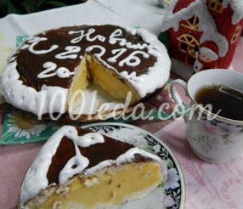 Торт Птичье молоко по ГОСТу
