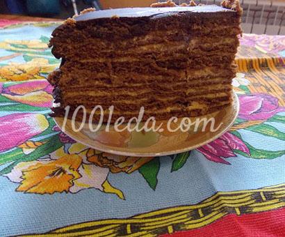 Шоколадный медовик с тыквенно-апельсиновым кремом: рецепт с пошаговым фото