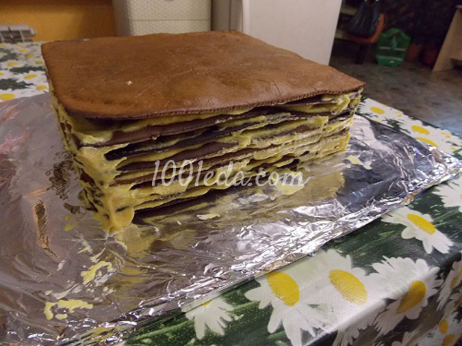 Торт «Сникерс» рецепт с фото пошагово