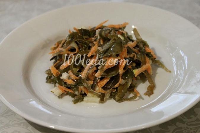 простой рецепт салата из капусты с морковью