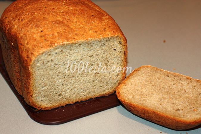 Пшенично-ржаной хлеб в хлебопечке - рецепт пошаговый с фото