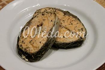 Лосось, запеченный в оригинальном маринаде – кулинарный рецепт