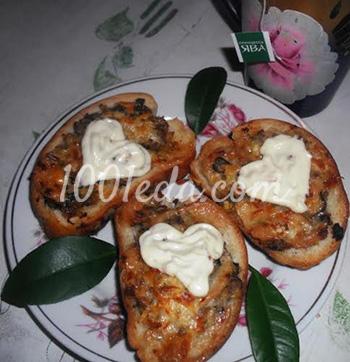 Горячие бутерброды в духовке Для любимого мужа